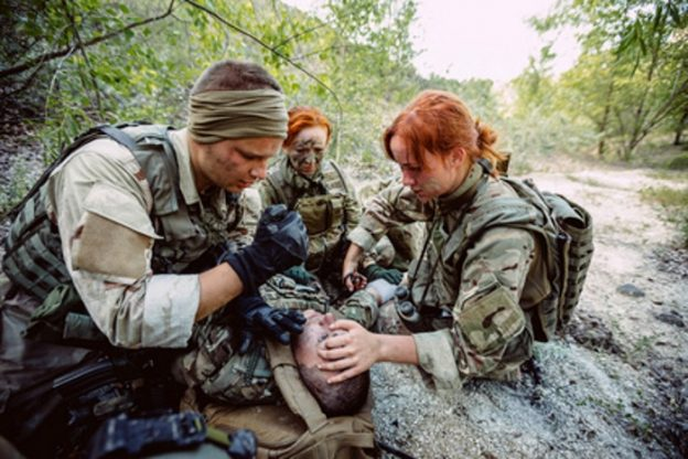 injured soldier